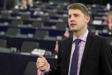 Petr Mach v Europarlamentu (10)
