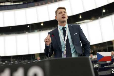 Petr Mach v europarlamentu