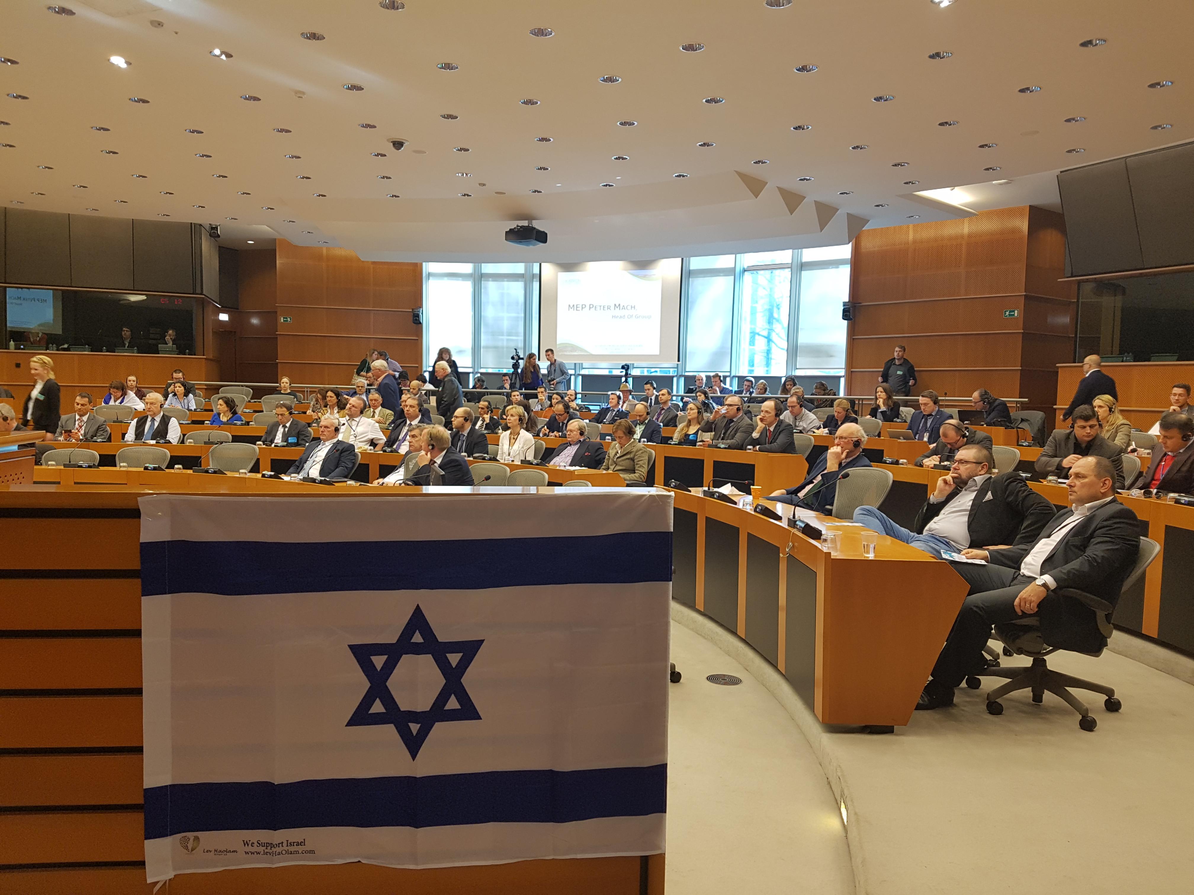 L. Zálom: Protiizraelská politika Evropské unie